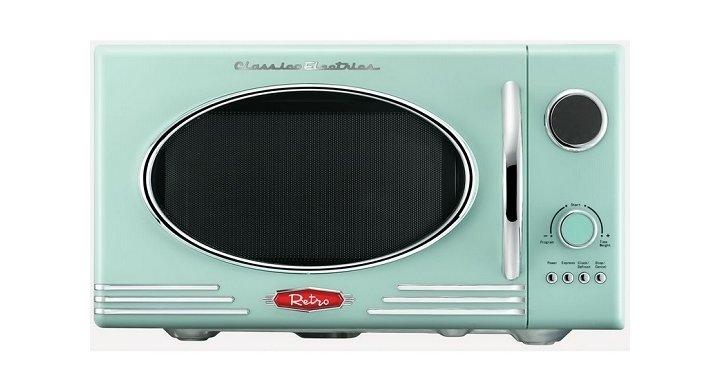 Retro Microwave 163 50 Wilko