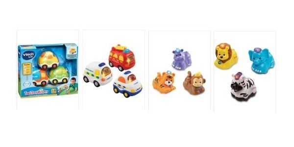 VTech Toot Toot Vehicles or Animals 3 Pack £13 @ Asda George