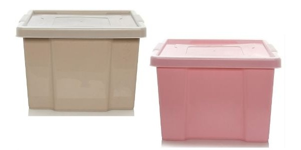 (EXPIRED) ASDA 27L Storage Box And Lid: Various Colours £2 @ Asda George