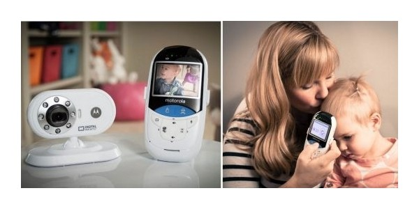 Motorola MBP27T Digital Video Baby Monitor with No-Touch IR Sensor £64.99 TODAY ONLY @ Amazon