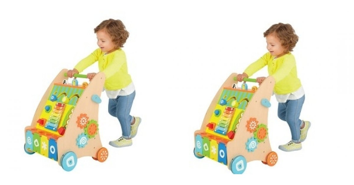 wooden activity walker babies r us. Black Bedroom Furniture Sets. Home Design Ideas