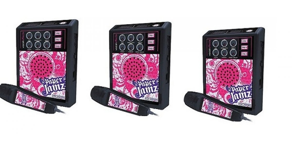 paper jamz pro mic style 2 The pro mic is not the only product in the paper jamz line, they also have 3 styles of the pro guitar and 3 styles of the pro drums there are more songs available for download on the website, but if you can't find the song you want you can always put in a request you could start your own paper jamz.