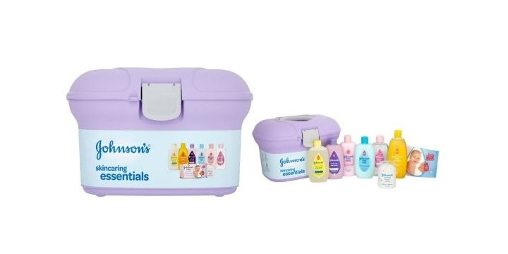 Baby Gift Set Asda : Johnsons baby skincaring essentials box for ? was