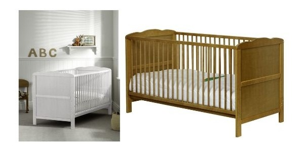 47% Off Saplings Kirsty Cot Bed Now £66 Delivered Or £51 Delivered With Amazon Family Code @ Amazon