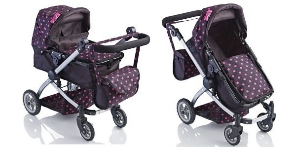 (EXPIRED) 66% Off Molly Dolly Babyboo Deluxe 2 In 1 Stroller & Pram Now £16.99 @ Amazon Seller net_price_direct