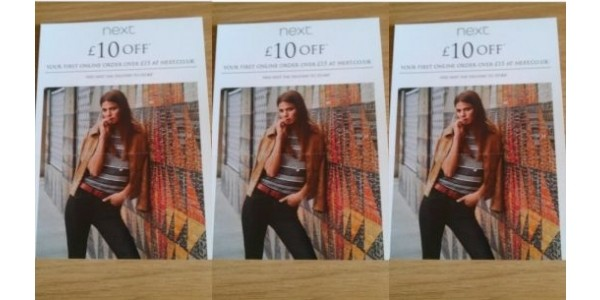 Back In Store £10 Off A £15 Spend With Instore Leaflet Code @ Next