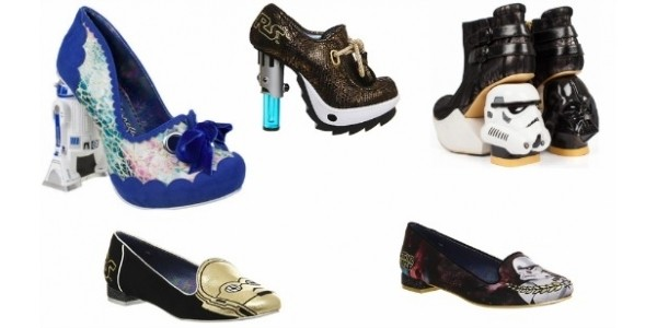 You Gotta See These: Irregular Choice & Star Wars Special Edition Shoes