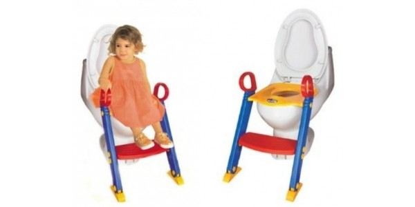 All In One Toddler Potty Training Seat & Steps £12.36 Delivered @ Amazon Seller WarehouseUK