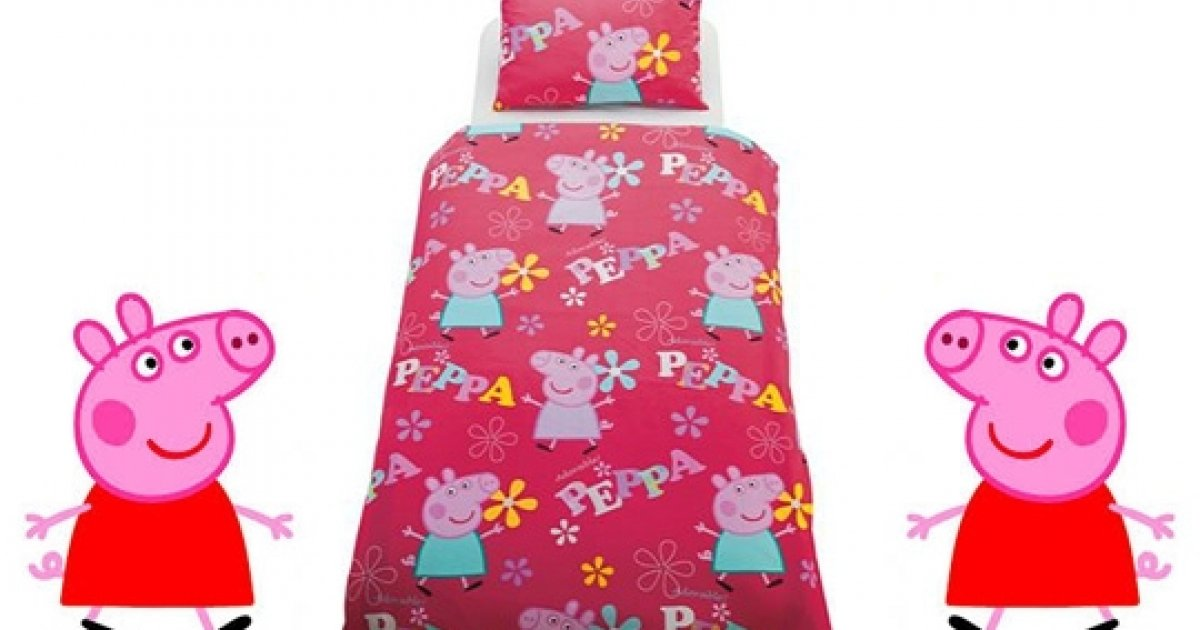 Peppa Pig Toddler Bed In A Bag 1499 Argos 42d18c06fde9b