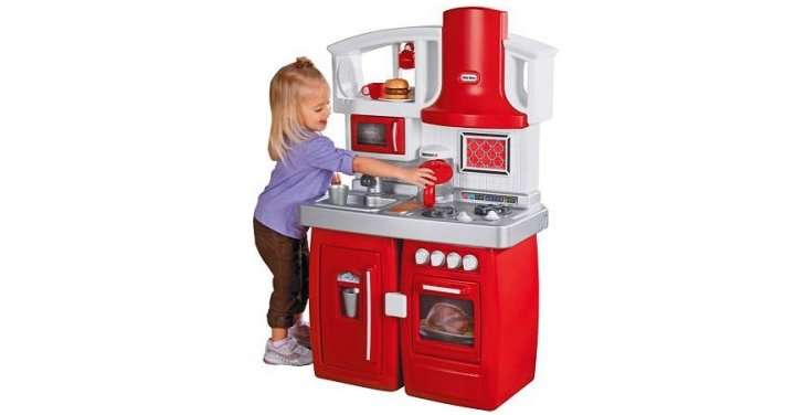 little tikes stage two play kitchen argos. Black Bedroom Furniture Sets. Home Design Ideas