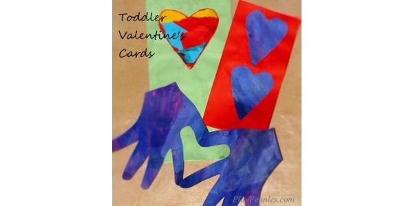 Workshop Wednesday: Toddler Valentine's Cards
