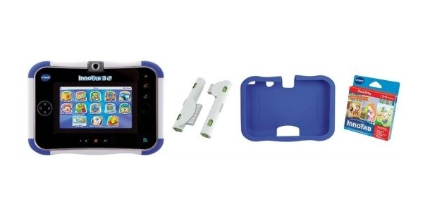 VTech InnoTab 3S Rechargeable Blue & Accessories Pack £39.99 @ Home Bargains