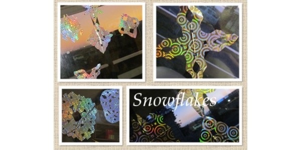 Workshop Wednesday: Decal Snowflakes