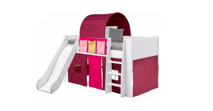 Mid Sleeper Bed With Slide Tent Amp Accessories Now 163 250