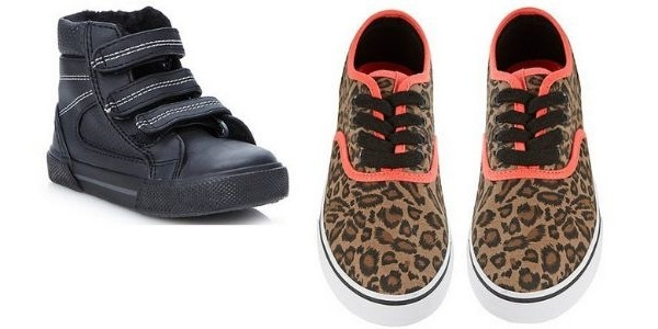 Children's Footwear Clearance: Items From £1.65 @ Debenhams
