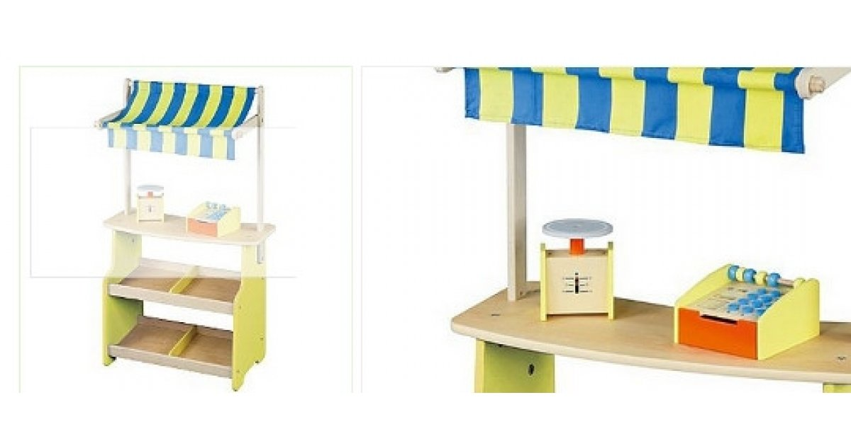 wooden market stall 25 asda. Black Bedroom Furniture Sets. Home Design Ideas
