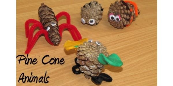 Workshop Wednesday: Pine Cone Animals