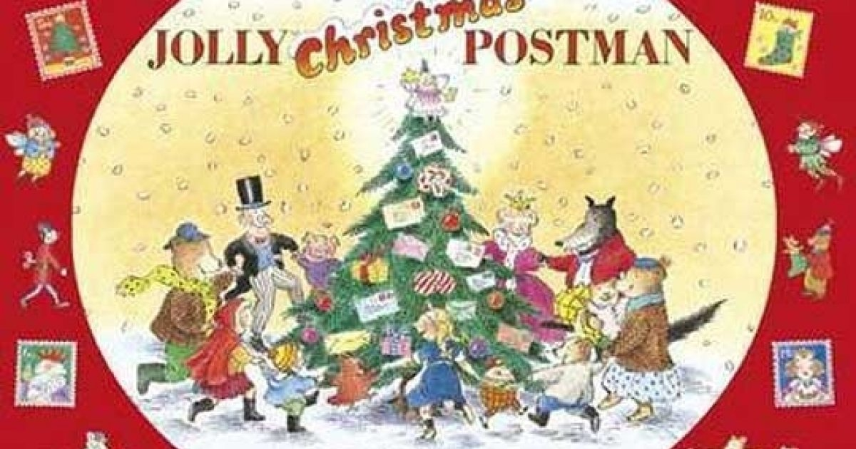 The Jolly Christmas Postman Story Book £6.49 @ Red House Books