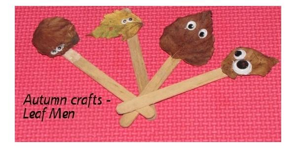 Leaf Men Crafts