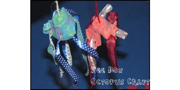 Egg Box Octopus Crafts