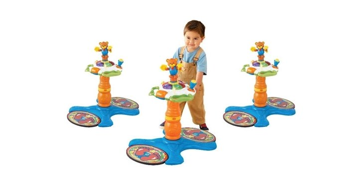 Vtech Sit To Stand Dancing Tower 163 22 49 Argos