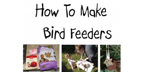 Workshop Wednesday: Making Birdseed Feeders