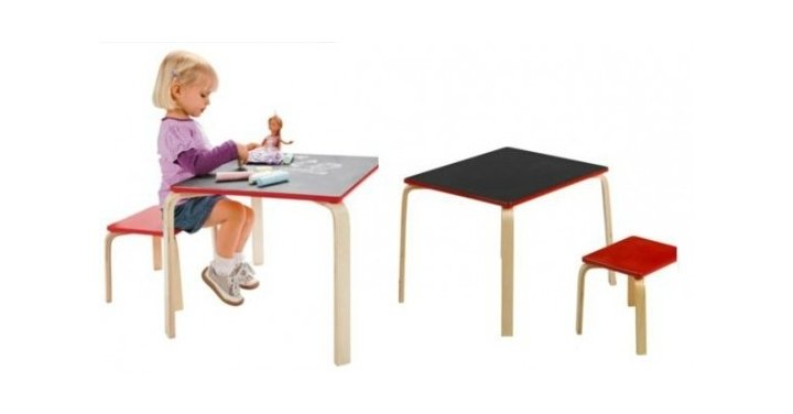 kids chalkboard table and chair argos