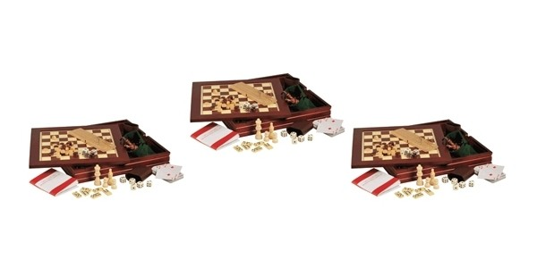 7-In-1 Wooden Games Set £6.99 @ Readers Digest