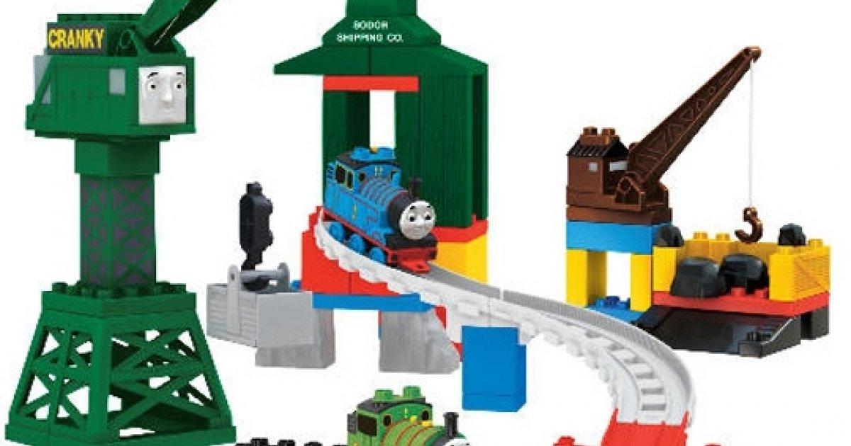 Thomas And Friends Mega Bloks Cranky At Brendam Docks £10 ...