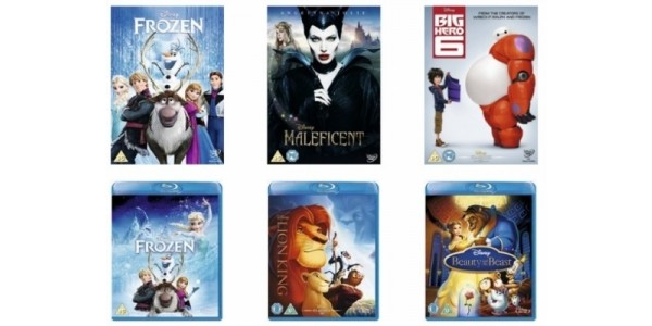 Get ANY Two Disney DVDs Or Blu-Rays For £11 Delivered (With Code) @ Xtra-Vision