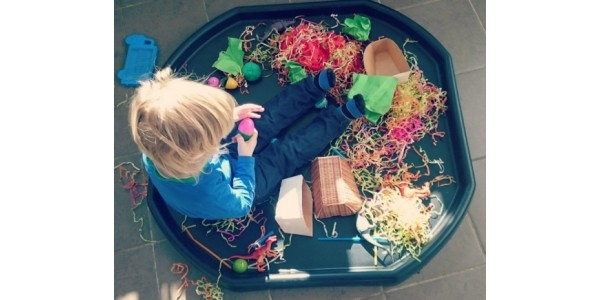 How To Create A Sensory Play Space - On A Limited Budget