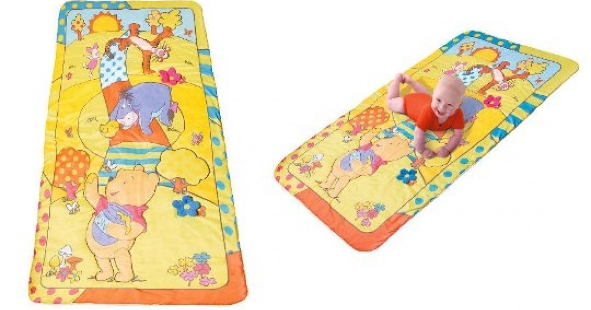 winnie the pooh crawling mat tesco direct. Black Bedroom Furniture Sets. Home Design Ideas