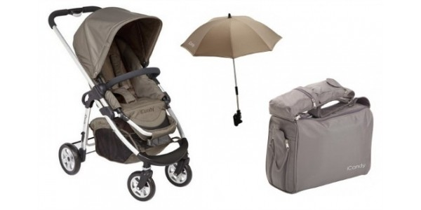 (EXPIRED) iCandy Cherry Toffee Fudge Pushchair Bundle Now Only £150