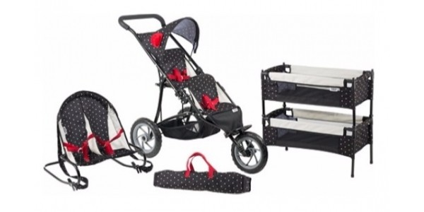 Mamas & Papas Toy Twin Pushchair, Bouncer & Bunk Bed Set: now £34.99 @ Argos