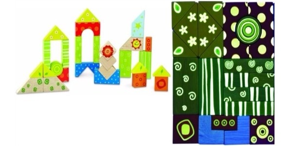 Wonderworld Wooden Toys Wooden Glow Blocks £7.99 Delivered @ Argos