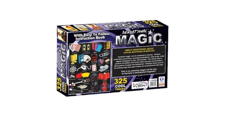 325 Sensational Magic Set 163 10 Tesco Direct