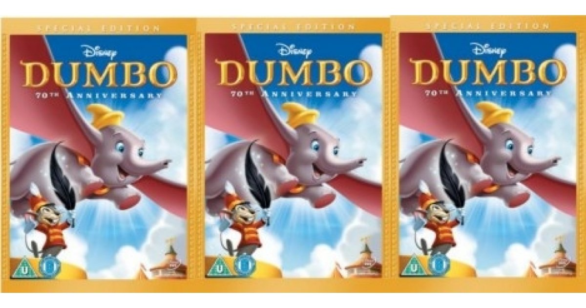 Dumbo 70th Anniversary Dvd 163 5 Asda Entertainment