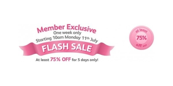 Flash Sale Up To 75% Off @ Bounty