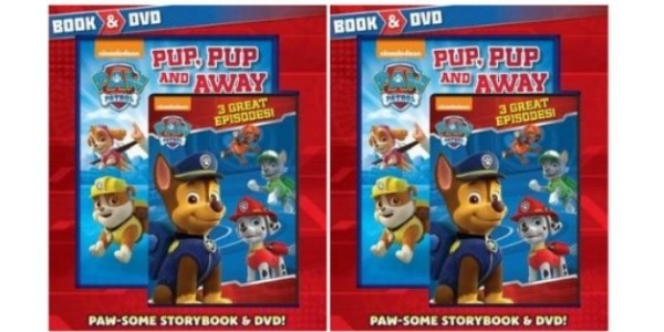 Paw Patrol Book & DVD Pack £4 @ The Book People