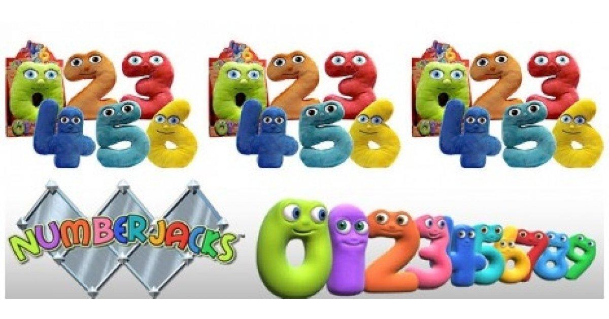 Numberjacks Toys £4.99 @ Sainsburys