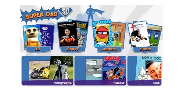 40% Early Bird Discount On Fathers Day Cards @ Funky Pigeon