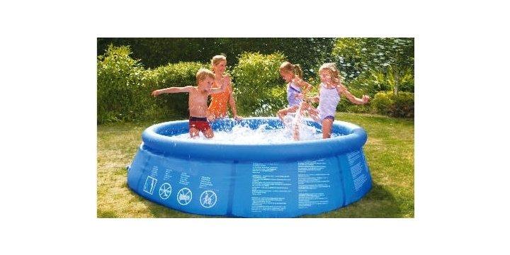 8ft quick up pool 15 tesco direct for Garden pool tesco