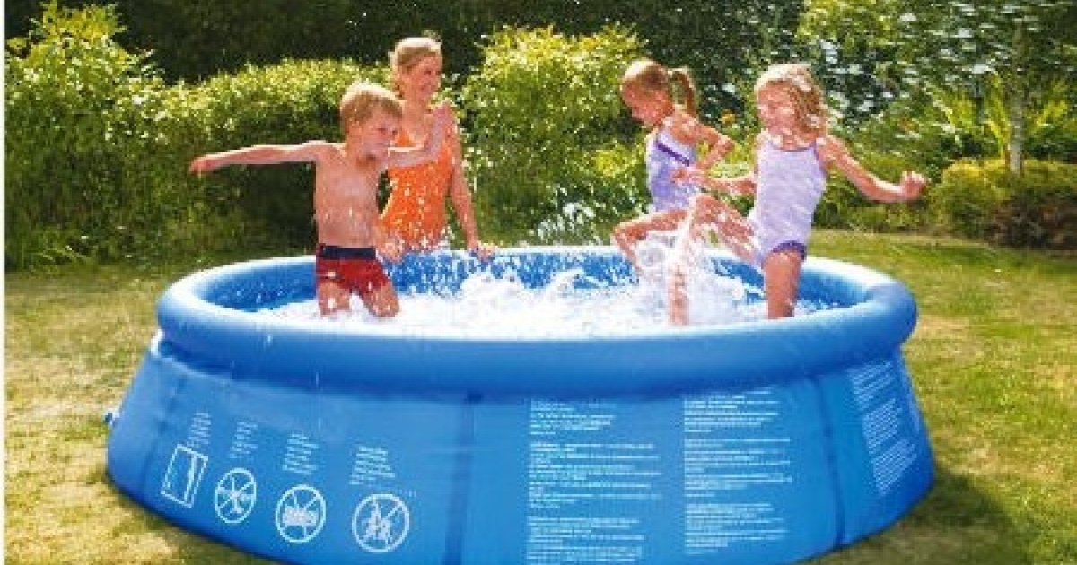 8ft quick up pool 15 tesco direct for Garden pool argos