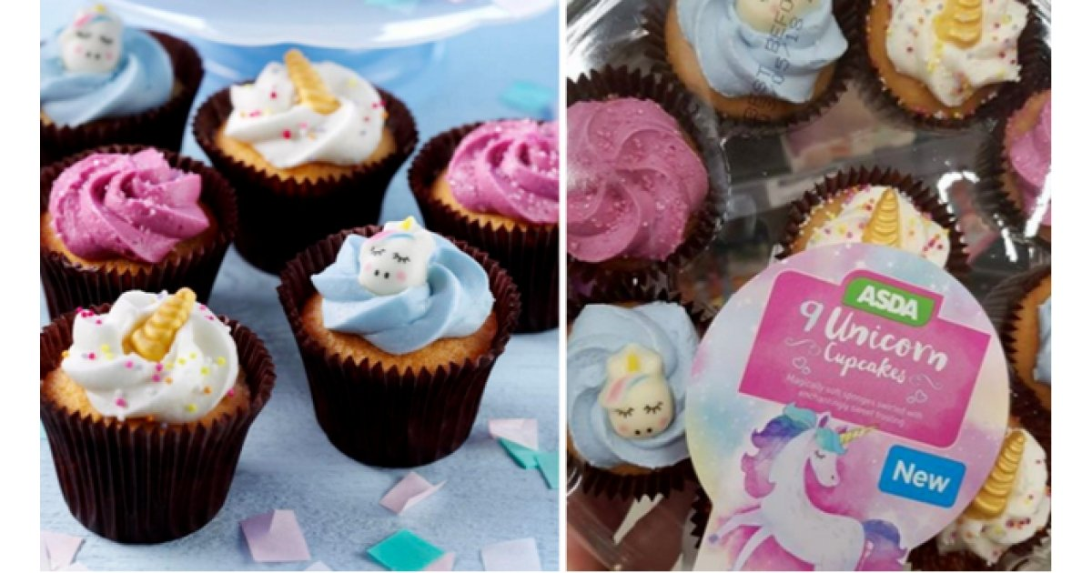 New Unicorn Or Flamingo Cupcake Platters 5 Asda