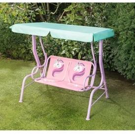 Kids 2 Seater Unicorn Swing Chair Patio Set From 25 B M
