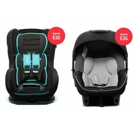 Half Price On Selected Car Seats @ Mothercare