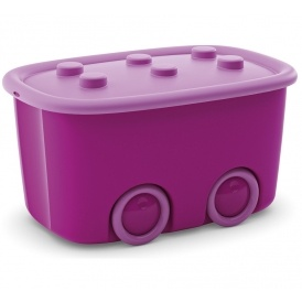 Pink Wheeled Storage Box 749 Was 1499 At Argos