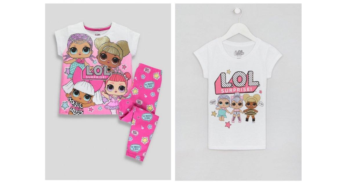 NEW L.O.L Surprise! Pyjamas & T-Shirt From £6 @ Matalan