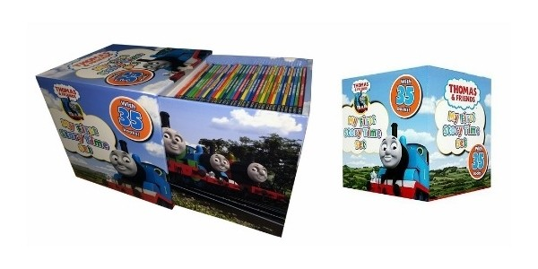 Thomas Story Time Collection Just £13.50 (was £25) for 35 Books Until Midnight Tonight @ The Book People