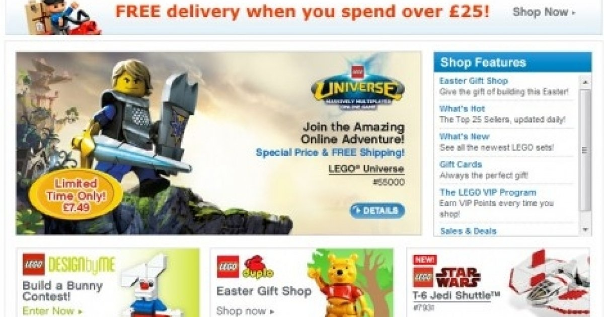 Lego online shop promotional code free delivery negle Gallery